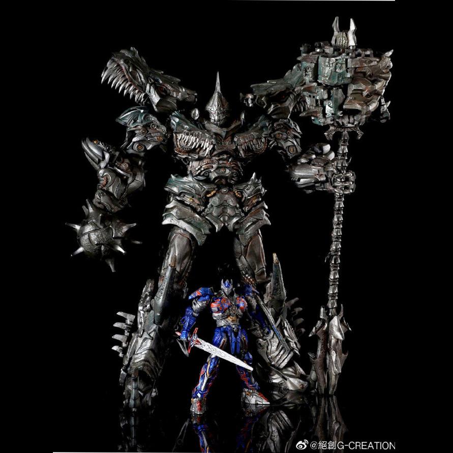 12-13  絕創G-CREATION鋼索雕像變形MTST-01 WRATH恐龍霸王龍