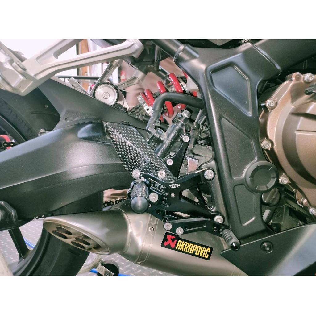【上元車業】RSV RACING 碳纖維飾板 腳踏後移  CB650F CBR650F CB650R/CBR650R