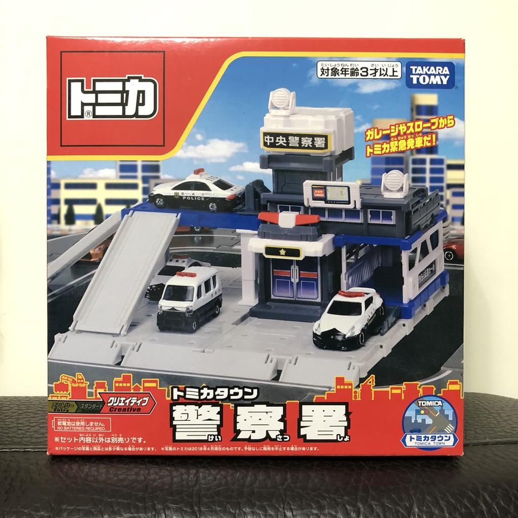 (bear)全新現貨日本帶回 Tomica 多美 tomy 場景組 警察 警察局 警察署 警車