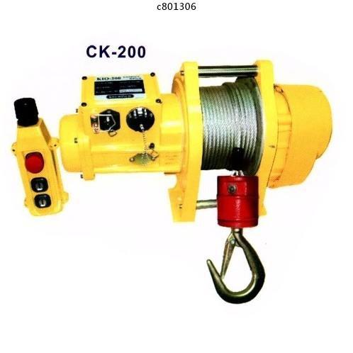 基業牌 高揚程 碳刷式吊磚機 CK-200-500 高樓小吊車 小金剛 電動吊車 免運費