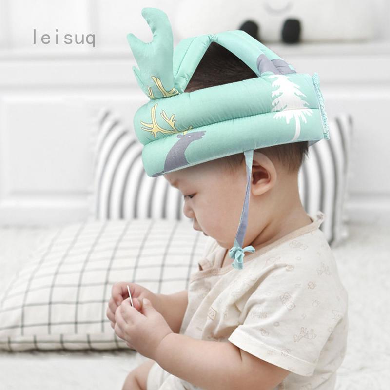 嬰兒防摔頭保護墊寶寶學走路兒童學步頭帽防摔折疊神器|