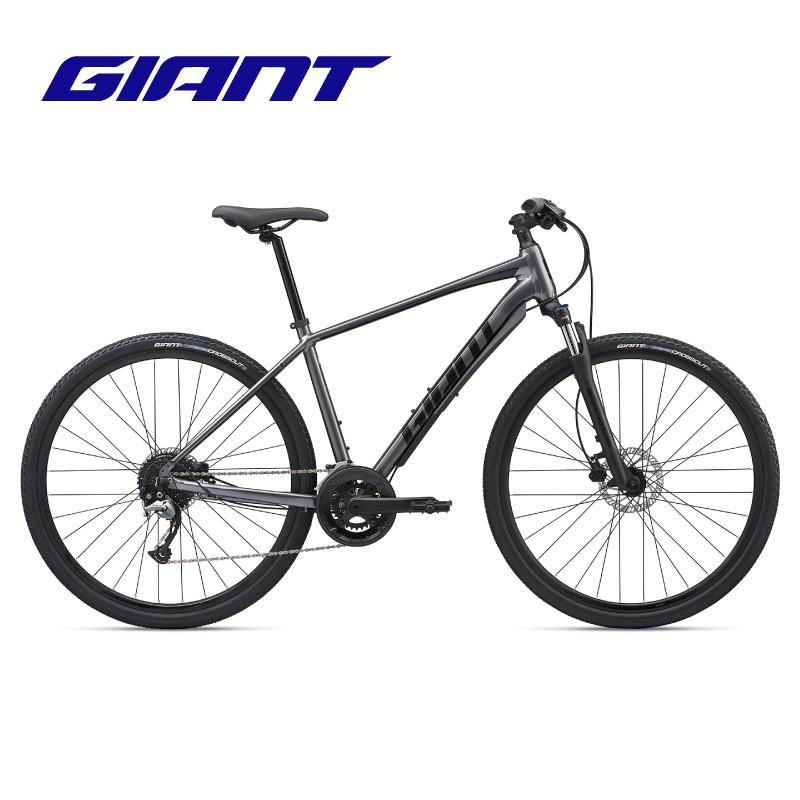 GIANT捷安特Roam 2 Disc鋁合金油壓碟剎18速跨界多功能山地自行車