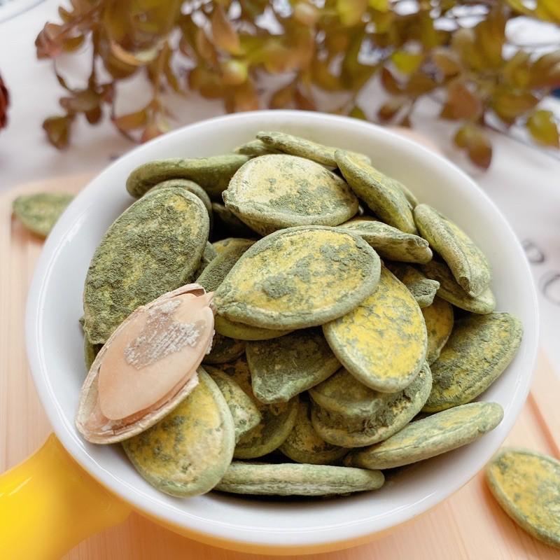 綠茶南瓜子 300克/包【台北譽展蜜餞行】