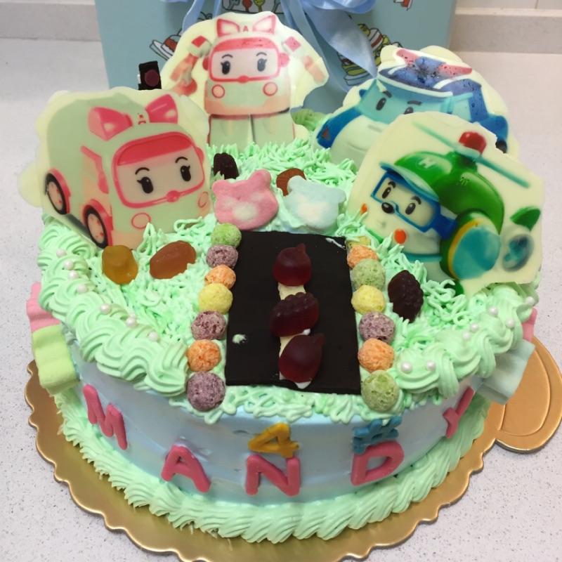 造型蛋糕 生日蛋糕 卡通 派對 波力 安寳