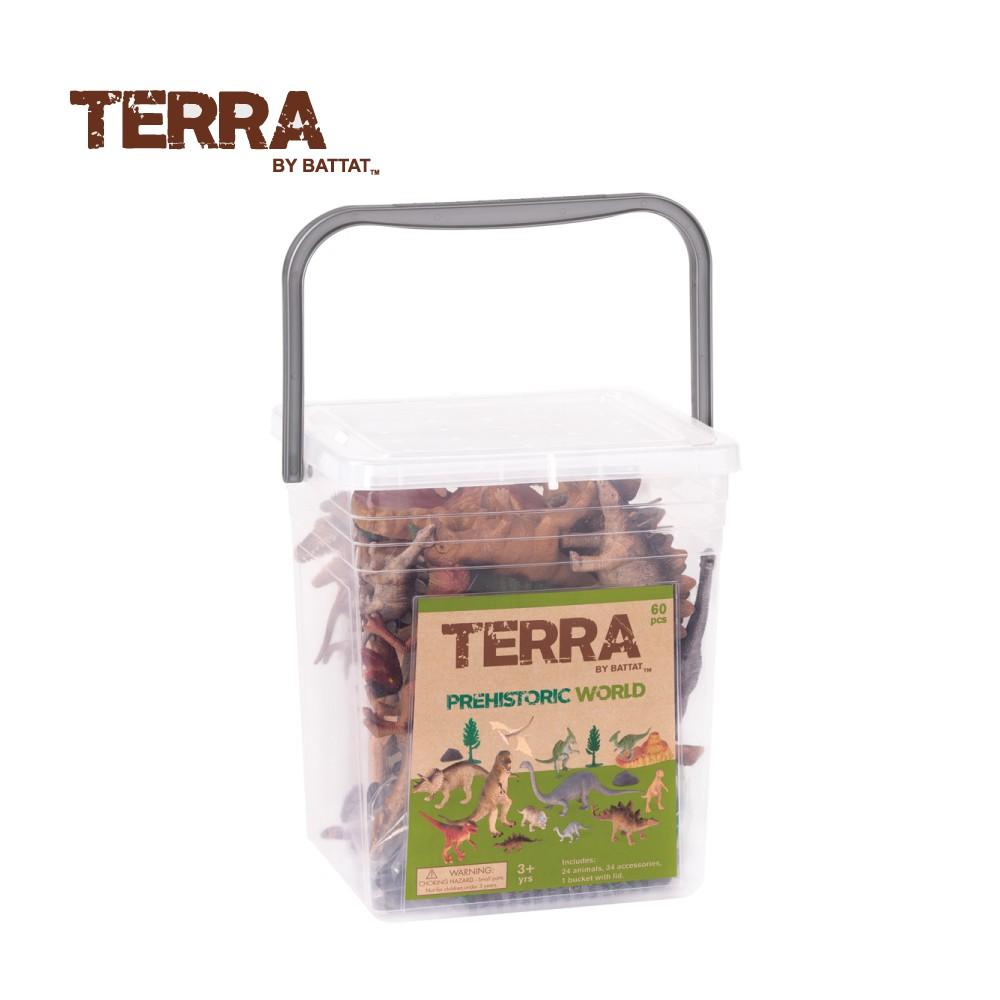 TERRA 史前世界(情境桶) 玩具 模型 動物