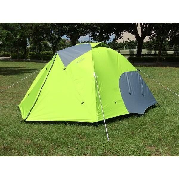 【SAMCAMP 噴火龍】超優品質#豪華 6~8人雙門銀膠蒙古包帳篷/300型(三代版) - 外型類似LOGOS 300