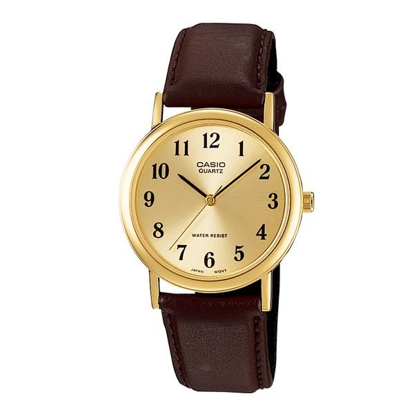 CASIO簡潔大方的三針-時分秒針設計 MTP-1095Q 指針數字男錶 LTP-1095Q MTP-1095Q-9B1