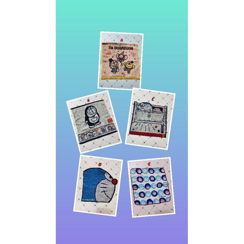🔥 現貨🔥日本代購doraemon 哆啦a夢 刺繡 毛巾 方巾 方形手帕 洗臉毛巾 小毛巾小叮噹 正版