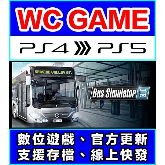 【WC電玩】PS4 PS5 中文 Bus Simulator 模擬巴士(隨身版 / 認證版)數位下載 無光碟非序號