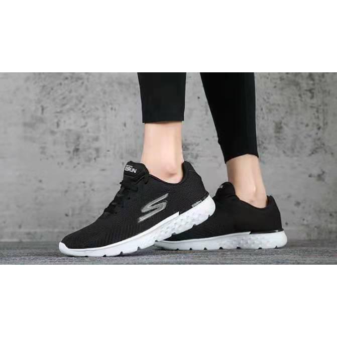 正品公司貨Skechers斯凱奇思克威爾係帶女鞋 輕質透氣健步慢跑運動鞋14804