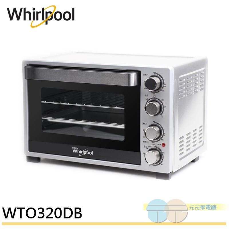 Whirlpool 惠而浦 32L機械烤箱 WTO320DB