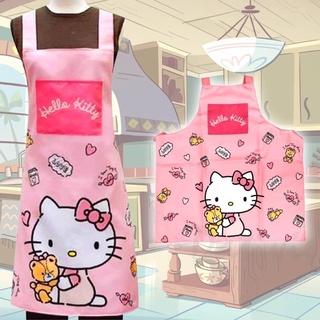 HELLO KITTY 綁帶式圍裙 三麗鷗 正版授權 臺南市