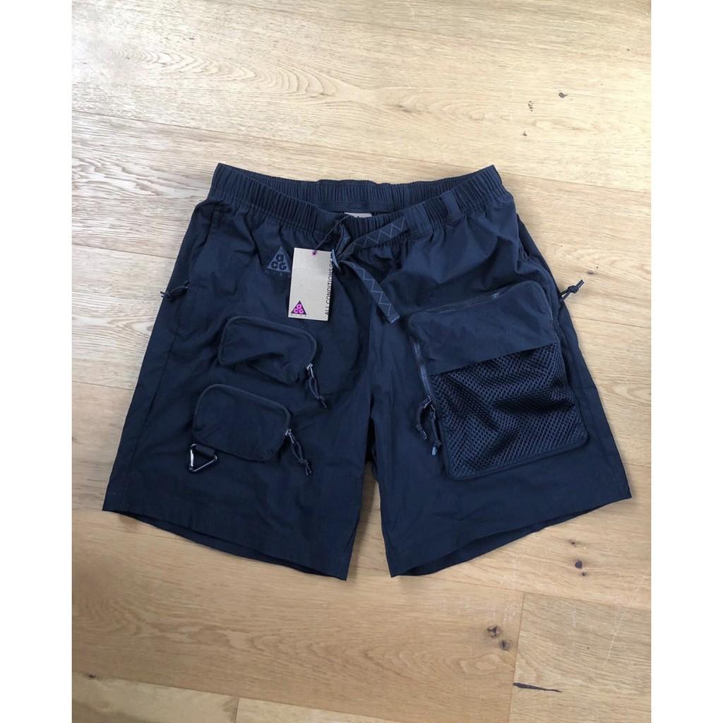 PJ_Nike ACG Cargo Shorts 機能 工裝 口袋 短褲黑 男CK7856-010 CK7845-010
