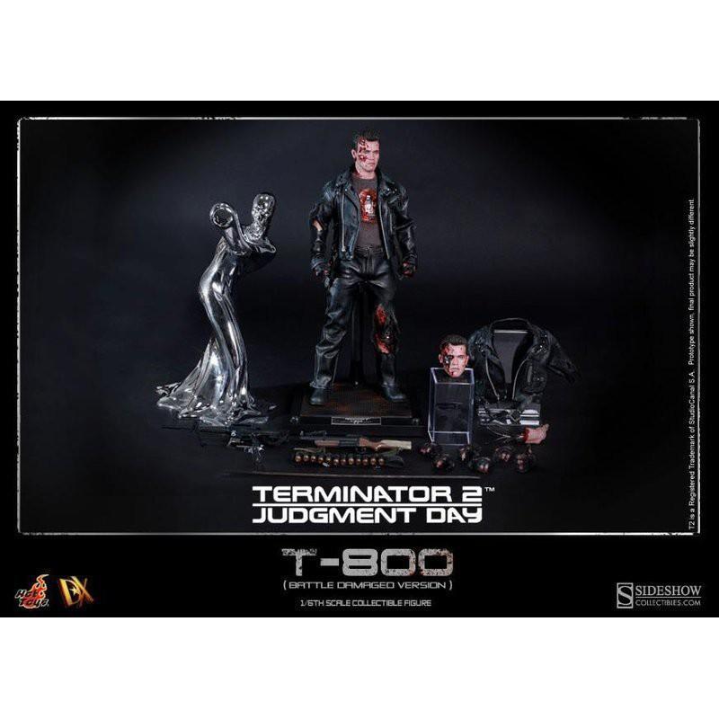 Hot Toys HT DX13 阿諾 魔鬼終結者 T-800 T800 戰損版 審判日