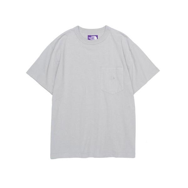 [ HUGE ]中原商圈 THE NORTH FACE 紫標 7oz H/S Pocket Tee 短袖T恤 口袋T恤