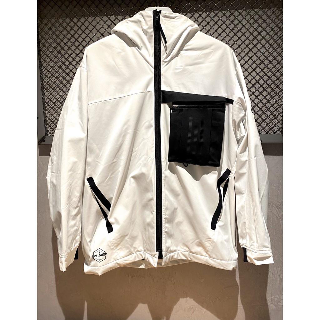 『GW.shopus 』Adidas 運動外套 白 FM9394