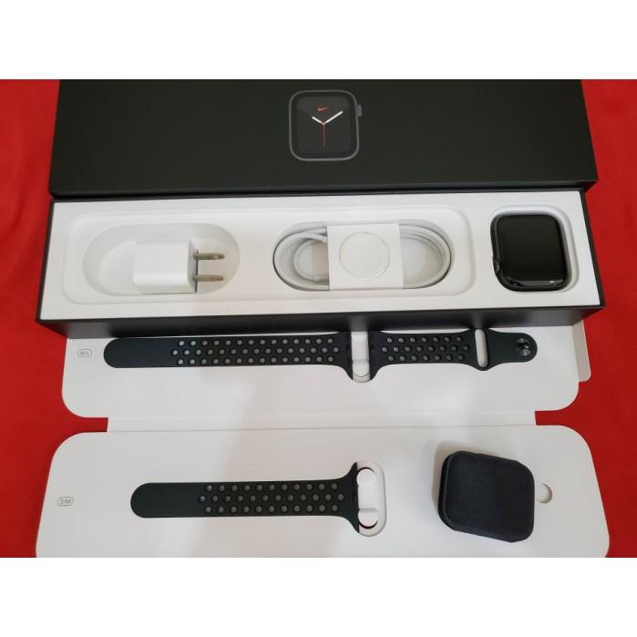 ※聯翔通訊 Apple Watch S5 44mm Nike 鋁金屬 台灣原廠保固2020/12/1 原廠盒裝※換機優先