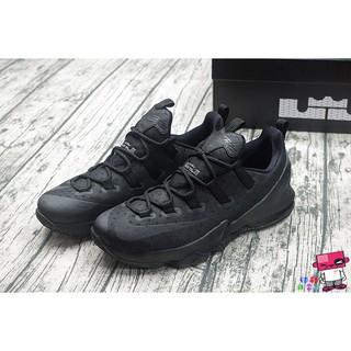 cheap for discount 18c24 d2959 9號店球鞋補習班 US10 NIKE LEBRON 13 LOW TRIPLE BLACK 姆斯 雷霸龍 LBJ 黑色