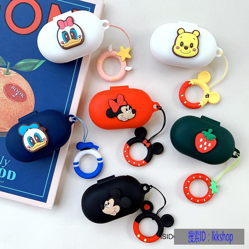 卡通米奇OPPOEncoW11真無線藍牙耳機套OPPOEncoW31耳機保護套 OPPOEncoW51保護殼矽膠軟殼