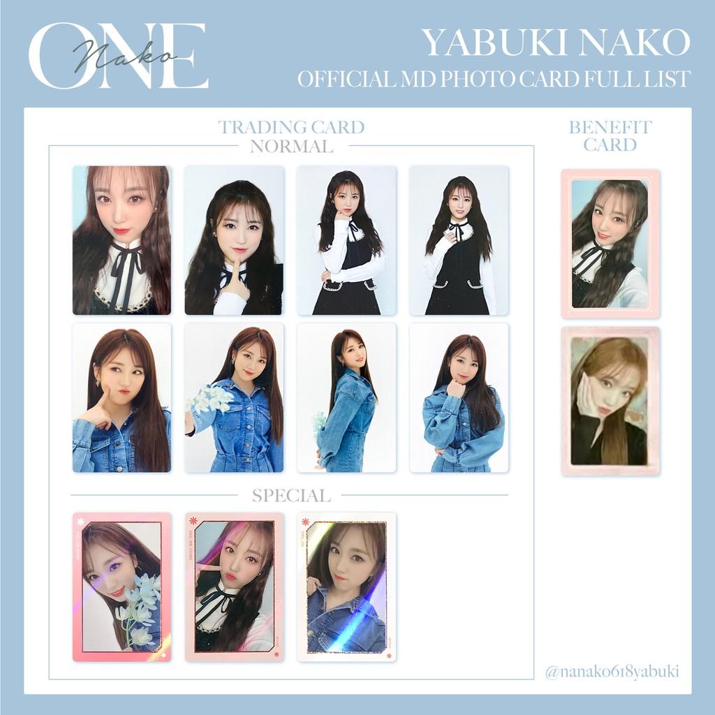 🐧IZ*ONE izone 線上演唱會 ONE,THE STORY 隨機卡 隨機卡包 周邊小卡 閃卡 普卡 奈子Nako