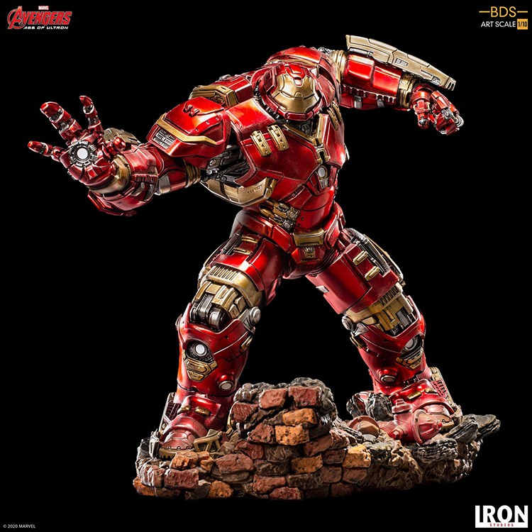 訂#Iron Studios 巴西廠 1/10 復聯2 反浩克裝甲 鋼鐵俠 雕像