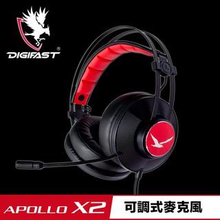 DIGIFAST 迅華  APOLLO X2舒適可調式電競耳機 (電競耳機)