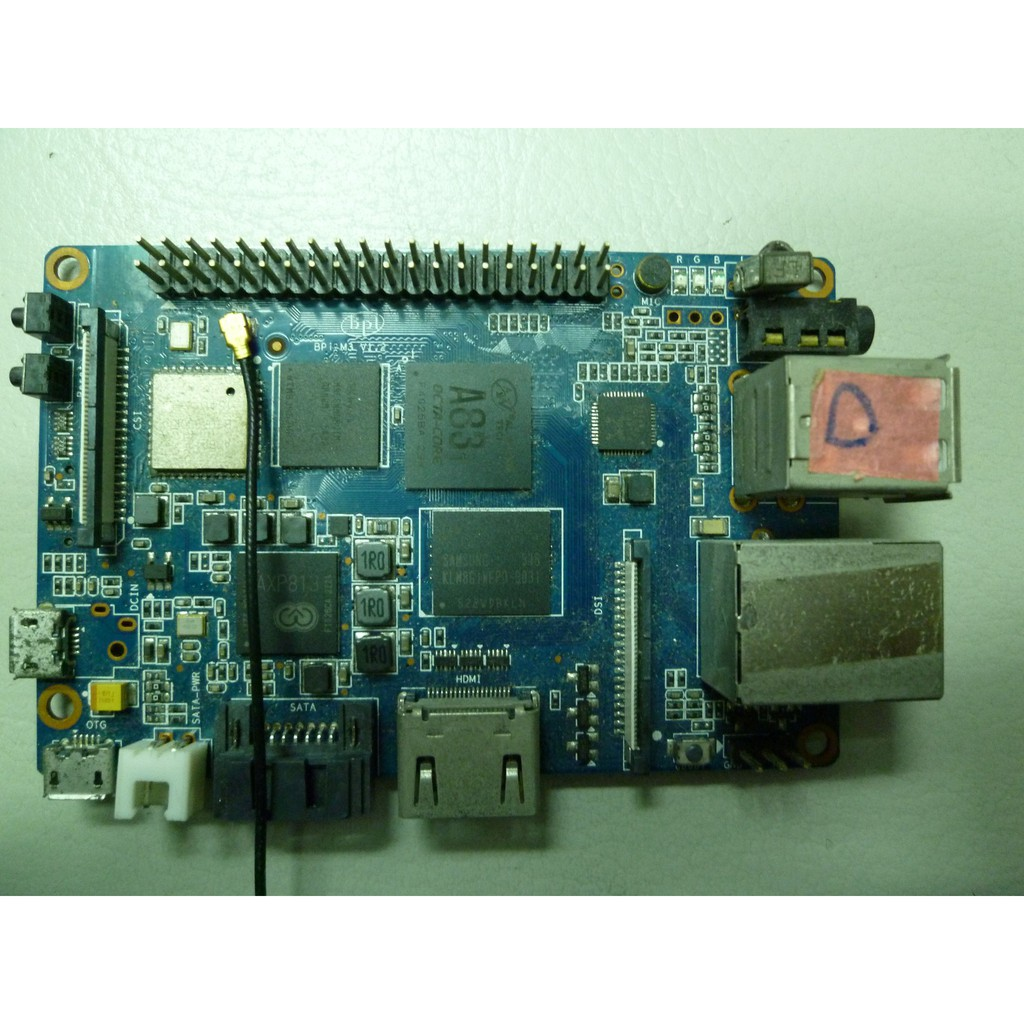 香蕉派 BPI-M3(Banana Pi M3)開發板 全志A83T