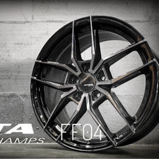 DATA FF04 18吋5孔108旋壓輕量鋁圈~FOCUS MONDEO V40 V60 起標價非商品實際售價 請洽詢