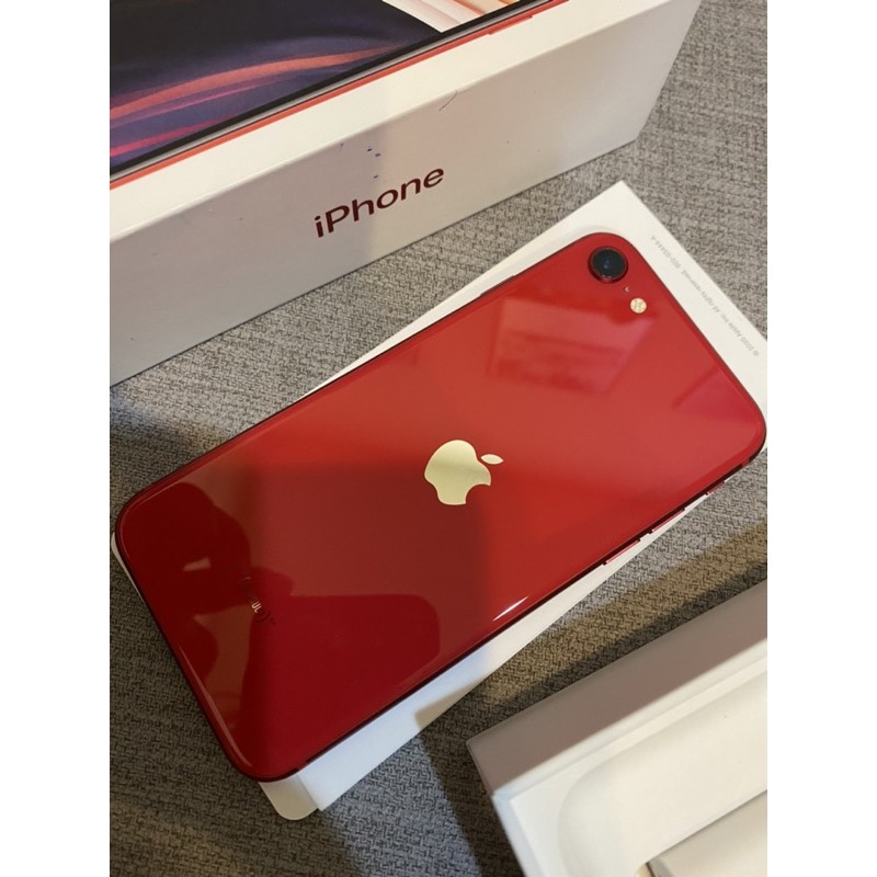 iPhone se 128g 紅色 2020  se2 apple 手機 空機 二手