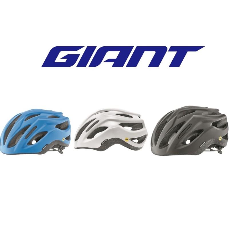 拜客先生-【GIANT】捷安特  REV COMP MIPS 亞洲頭型公路車安全帽 黑/白/藍 2020新品 預購款