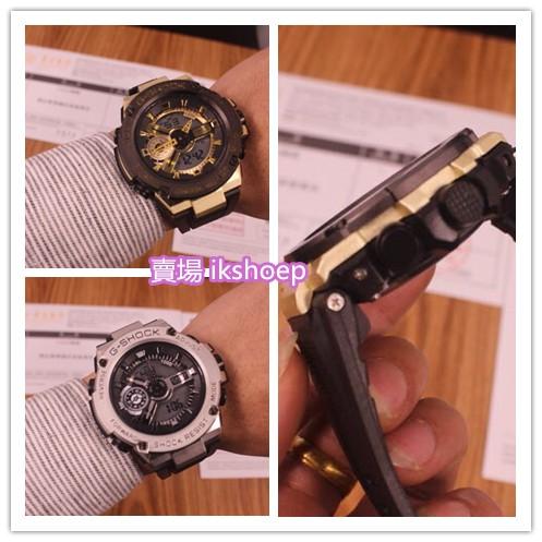 Casio 西欧G-shock.T400系列石英表 多功能男士腕表 運動錶石英錶