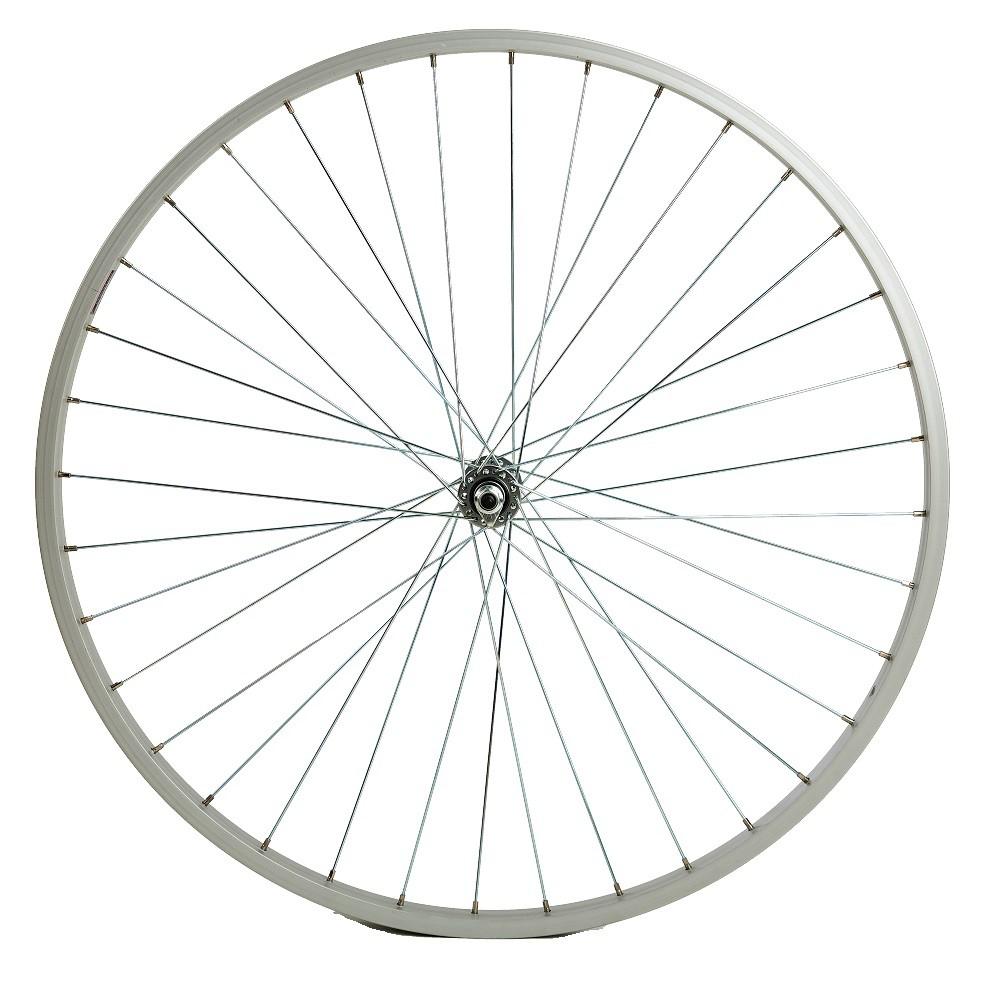 26吋淑女車 單層鋁合金輪組 590輪圈 26x1 3/8淑女車輪組--前輪組、單速後輪組 / 變速後輪組--可挑選
