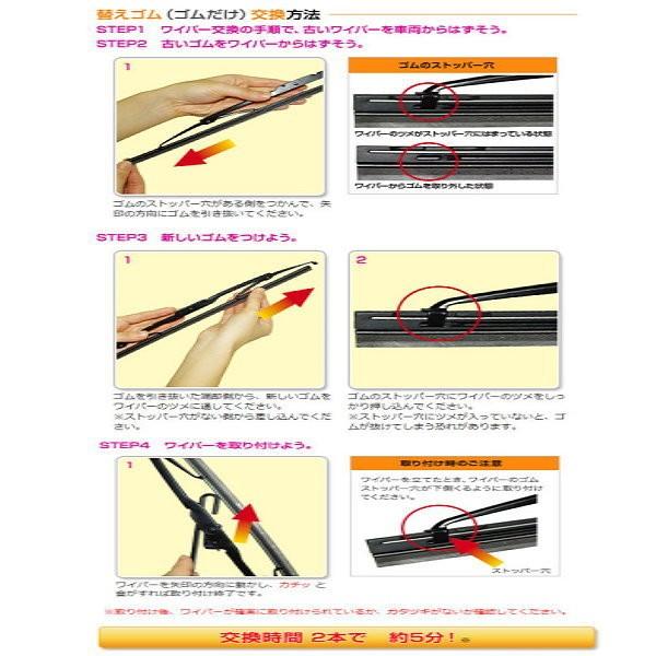"""日本原裝進口 PIAA 矽膠潑水替換型雨刷膠條 幅寬8mm 長度24"""" (600mm) 26"""" (650mm)"""