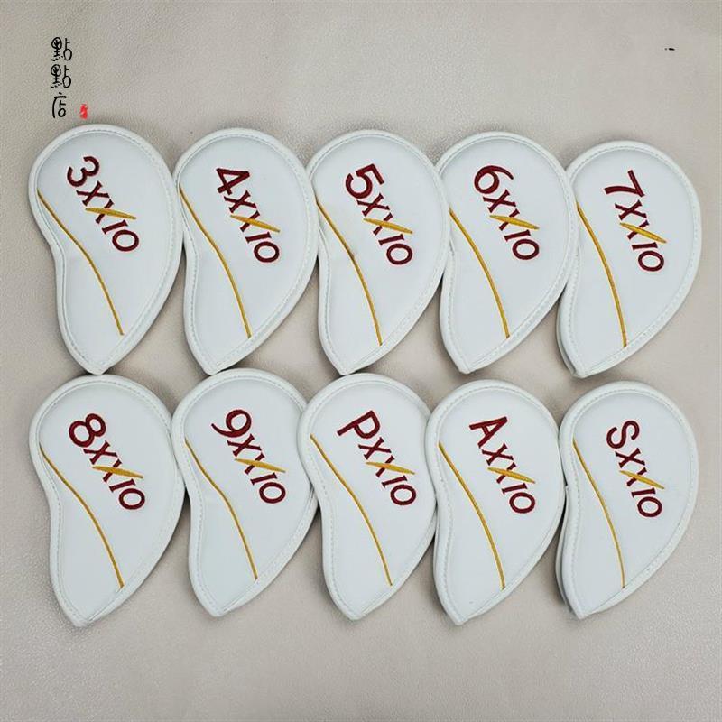 【高爾夫推桿套】 XXIO高爾夫鐵桿套 桿頭套帽套 球桿保護套高爾夫球桿XX10球頭套192