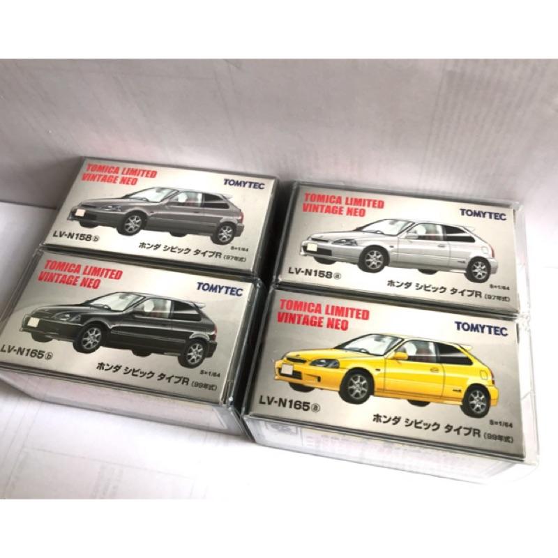 (附膠盒) 多美Tomytec Tomica Limited Honda Civic Si EG6 EK9 本田 喜美