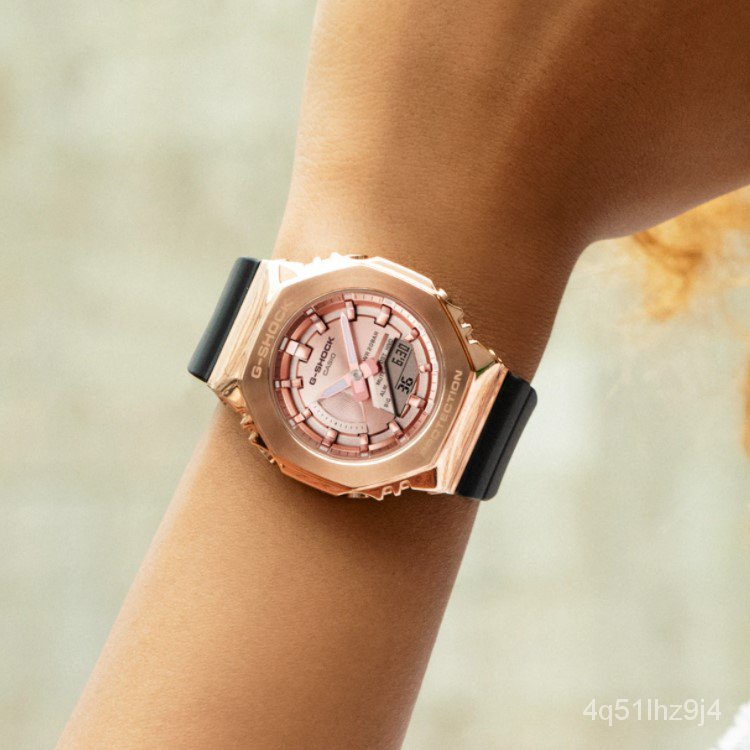 卡西歐手錶G-SHOCK GMA/GM-S2100PG-1A4/B-8A/3A/4A 電子女士腕錶 lfLe