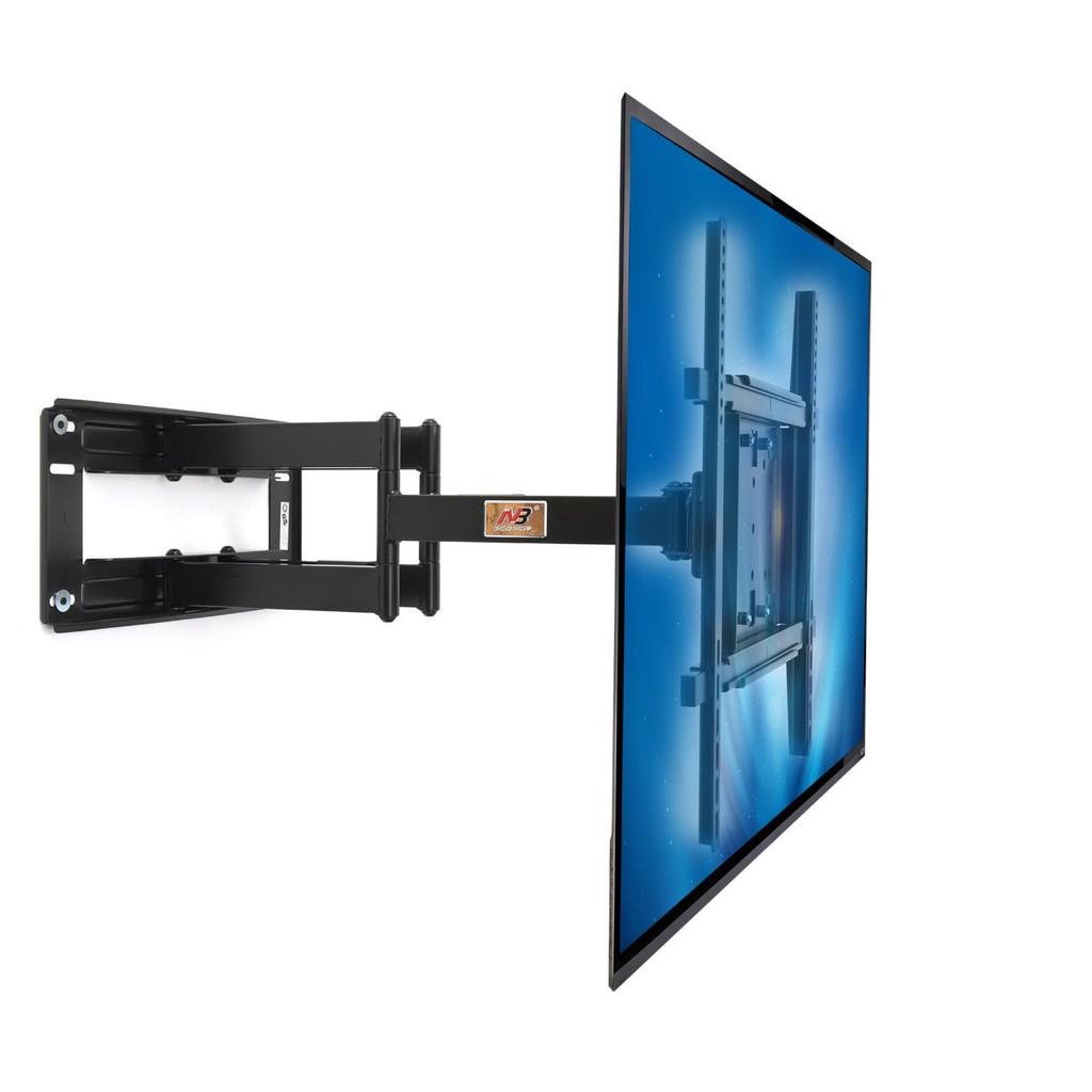 【NB-5000 】50-80吋重型大電視旋臂壁掛架 雙手臂最長旋轉電視支架 大型螢幕壁掛架