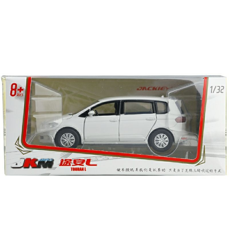 現貨盒裝1/32 福斯touran 聲光玩具模型車