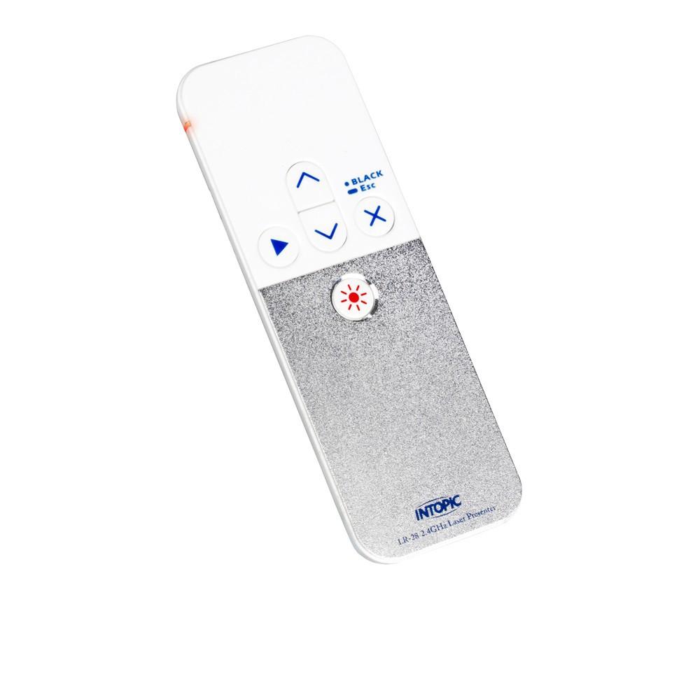 INTOPIC 廣鼎 2.4GHz無線 簡報筆 PPT 雷射筆 簡報器 (MS-LR28) 廠商直送 現貨 宅配免運