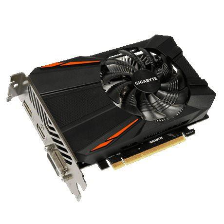 技嘉GTX1050TI 4G 1050 2G 單風扇短卡溫控風扇遊戲顯卡順豐包郵