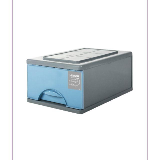 微風單層抽屜式整理箱-中(無輪)