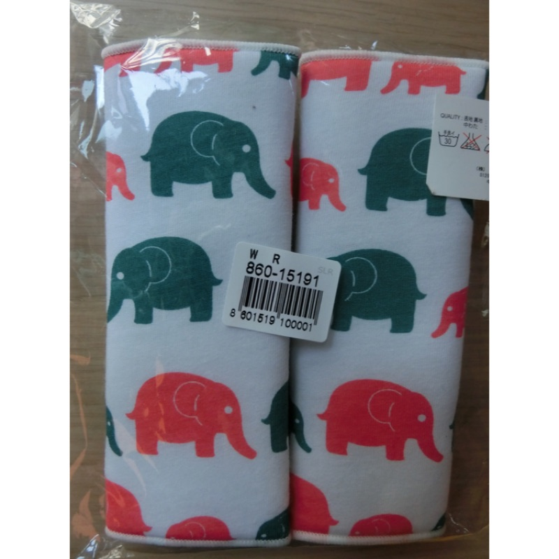 背帶口水巾(大象)