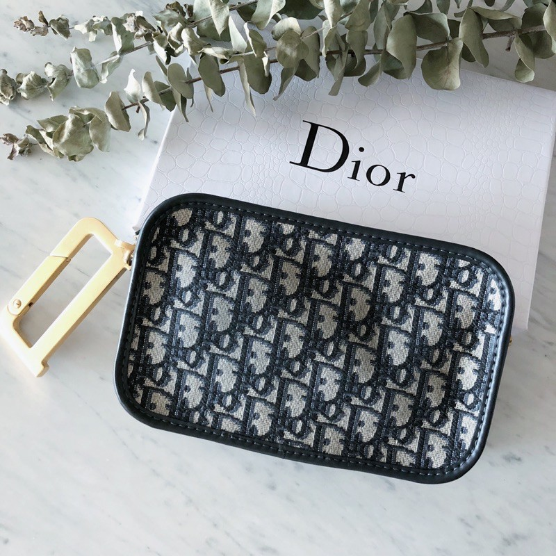 Diorquake Dior Oblique手拿包/專櫃正品有購買憑證