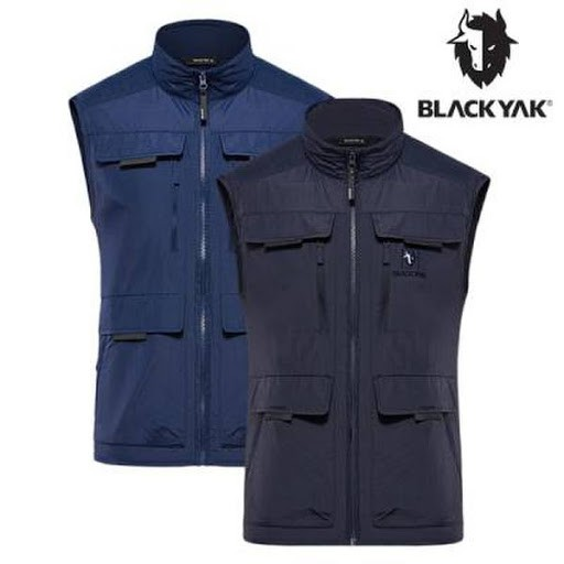 【BLACKYAK】男PICTURE多功能口袋背心 [海軍藍/深灰色] 多口袋背心 | BY181MV204