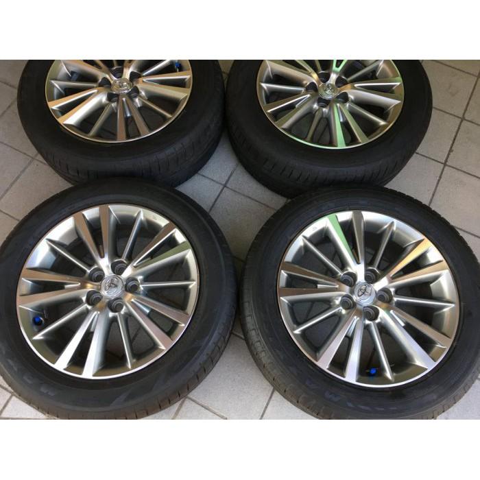 98新 豐田原廠 雙色 ALTIS原廠 5孔100 16吋鋁圈含輪胎 WISH原廠 PREMIO
