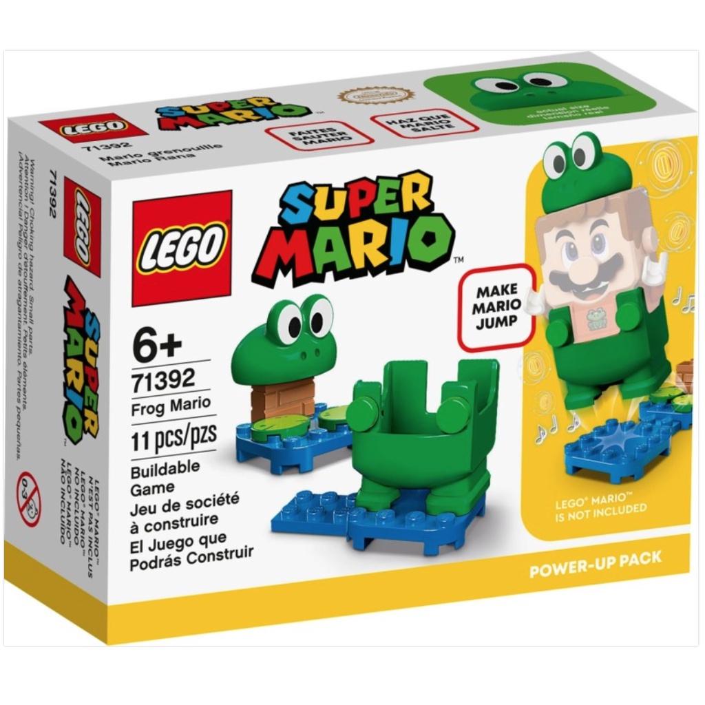 8月新品~2021 LEGO 71391 青蛙瑪利歐裝(Frog Mario)71392蜜蜂瑪利歐裝(Bee Mario