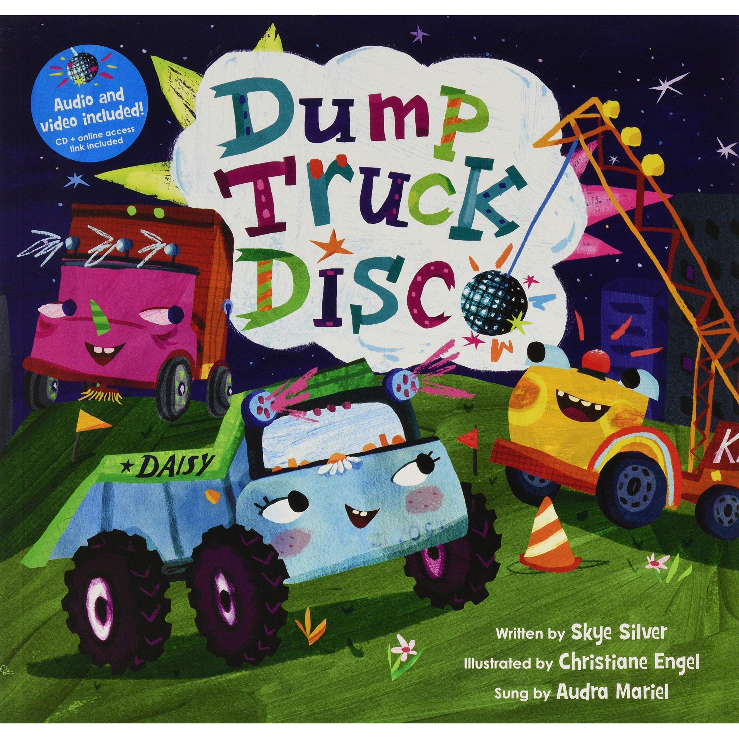 Dump Truck Disco (1平裝+1影音CD)【禮筑外文書店】(有聲書)[75折]