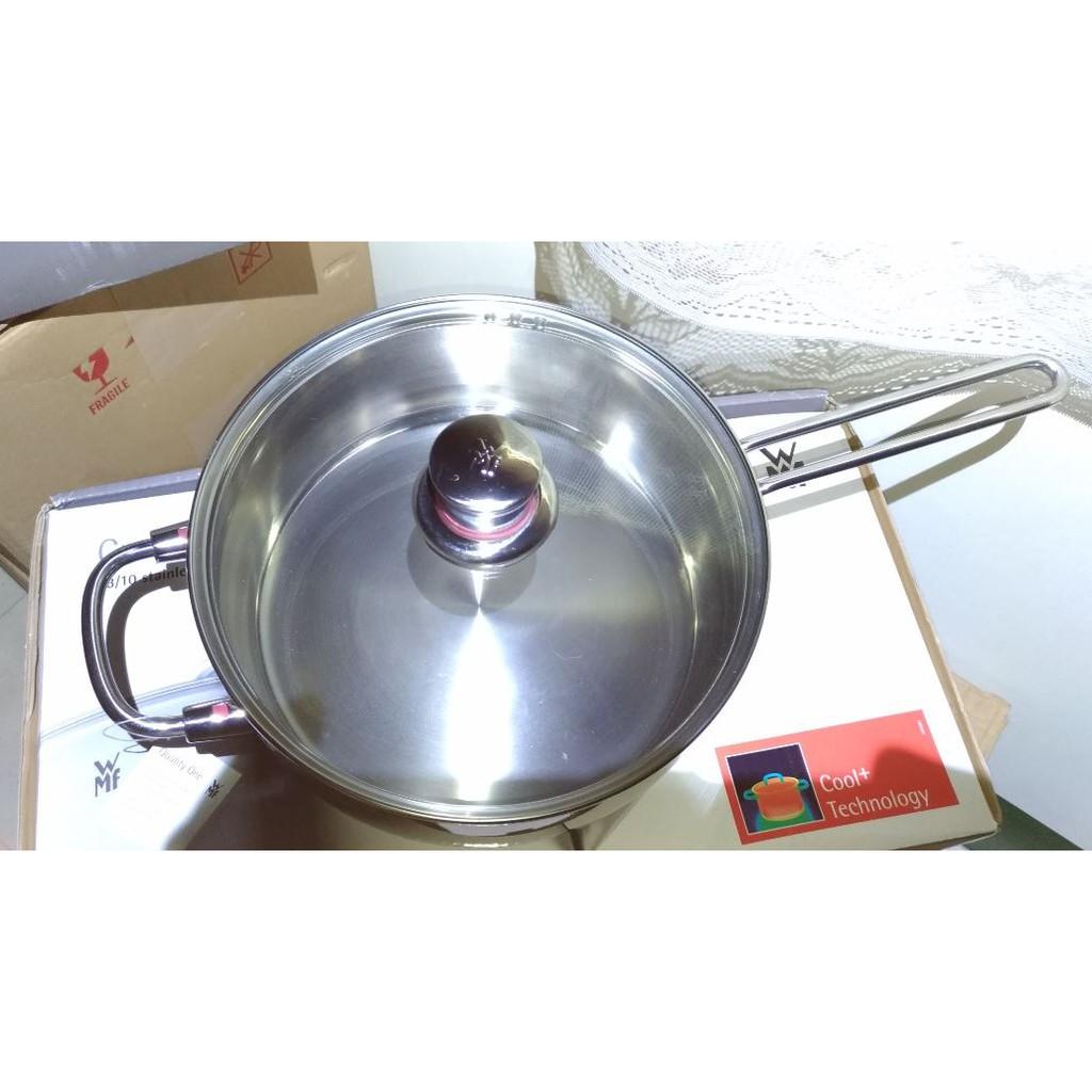 WMF 24公分  24CM  多功能單柄鍋 可當湯鍋 煎鍋 炒鍋  複合鍋底 電磁爐可用~Quality One系列