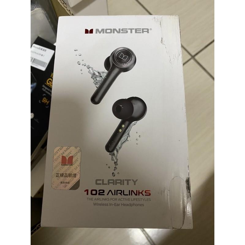 全新未拆Monster Clarity 102 Airlinks 真無線藍牙耳機