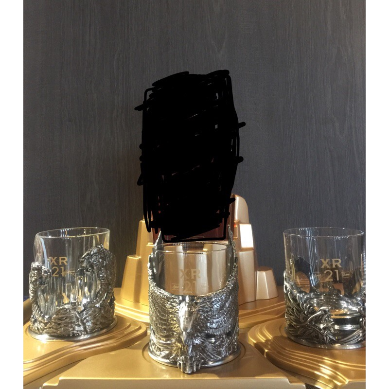 約翰走路Xr21三國領袖全套整座(杯子及架子)